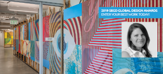 Jury member Ellen Spurlock: enter your best work to the Global Design Awards