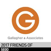 Gallgher 2017 Friend of SEGD