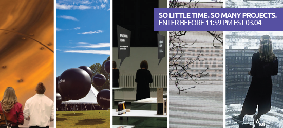 Global Design Awards' Best in Show winners over the past five years.