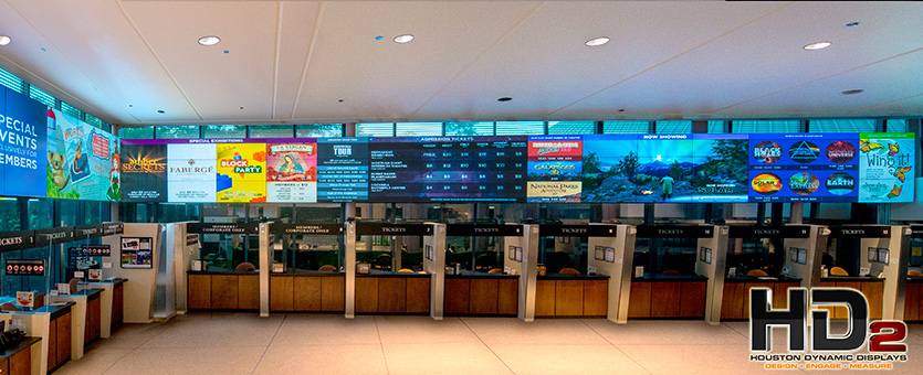 Houston Dynamic Displays Video Wall