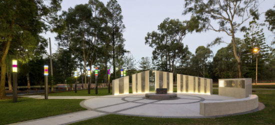 ANZAC Memorial at Buchanan Park (by Dotdash)
