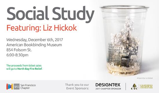 Social Study, Featuring Artist Liz Hickok