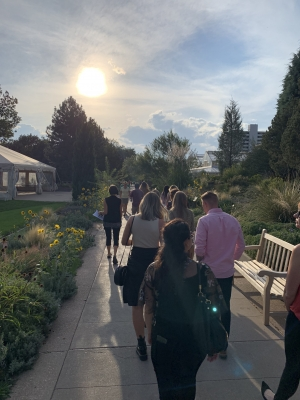 SEGD Denver Golden Hour Tour of Denver Botanic Gardens