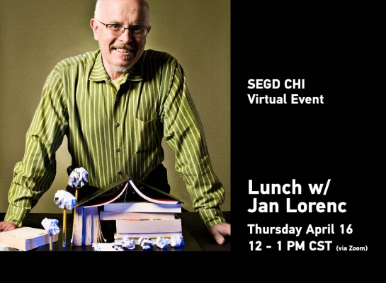 Lunch with Jan Lorenc Virtual Event Poster