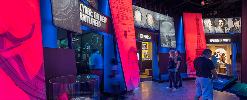 Kubik Maltbie, Inc. International Spy Museum – Washington, DC