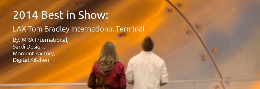2014 Best in Show Award: LAX Tom Bradley International Terminal Photo