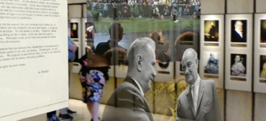 Microsoft Hololens in Use at the LBJ Presidential Library