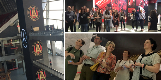 SEGD Atlanta Chapter Event - Mercedes Benz Stadium Tour