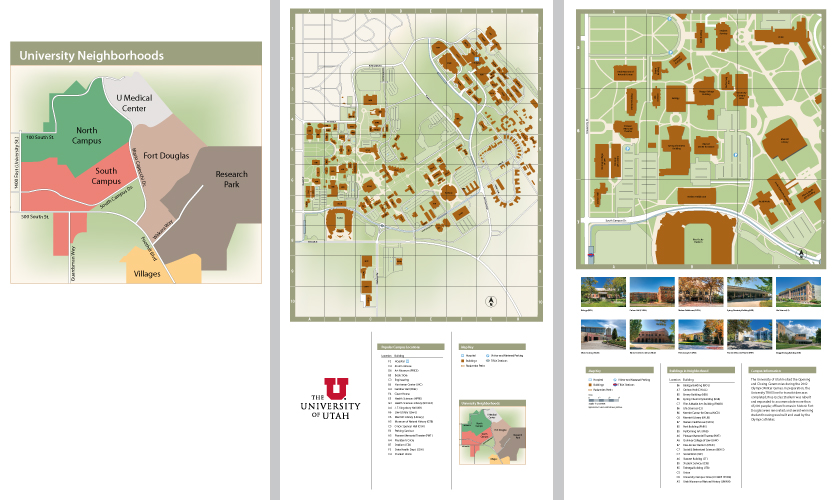 A Clear Path University Of Utah Wayfinding Segd
