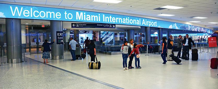 MIA Terminal Banner
