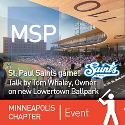 Minneapolis Chapter Event, St. Paul Saints game!