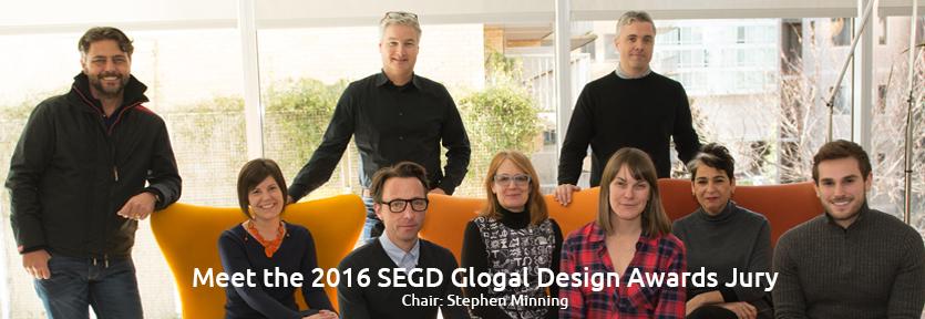 2016 SEGD Global Design Awards Jury