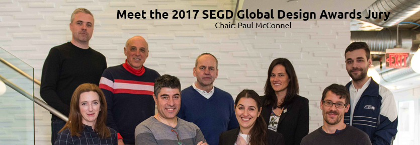 Link to the 2017 SEGD GLobal Design Awards Jury