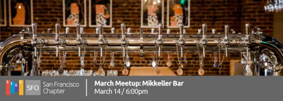 March Meetup: Mikkeller Bar