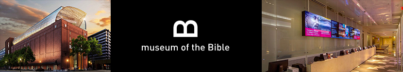 The Event will be held at the new Museum of the BIble