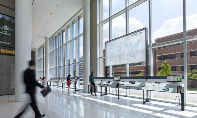This Is Npr Lobby Exhibition Segd