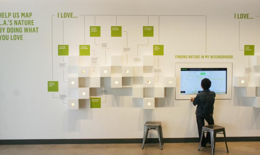 Nature Lab Exhibit Segd