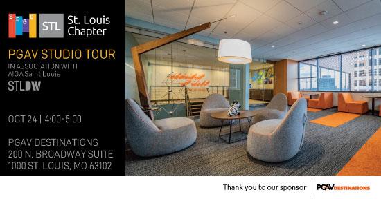 PGAV Destinations Studio Tour - SEGD STL