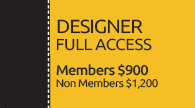 2020 Portland Conference Designer Full Access Registration
