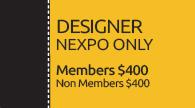 2020 Portland Conference Designer NEXPO Only Registration