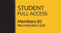 Conference SEGD Student Member (Free) Registration