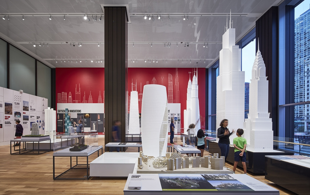 Gallagher & Associates Build it Tall at the Chicago Architecture Center
