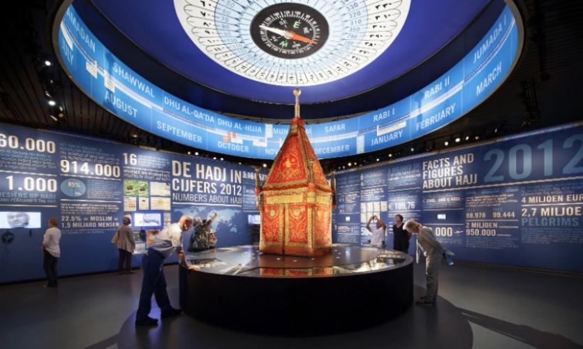 Rijksmuseum, Longing for Mecca Exhibit by Kossmann dejong