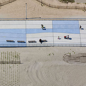 Rockaway Beach Boardwalk Graphics