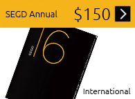 SEGD Annual 1 Year International Subscription