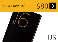 Click to purchase the SEGD print Annual of Design Excellence.