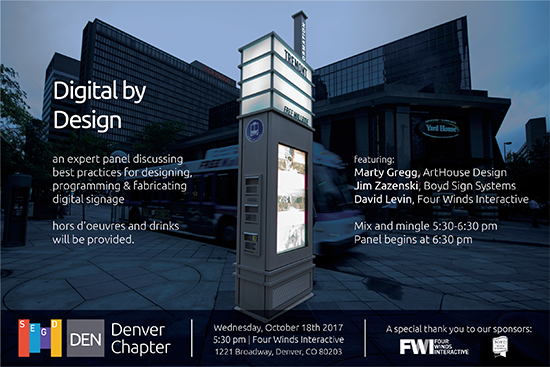 Digital by Design, An Expert Panel of Best Practices for Digital Signage