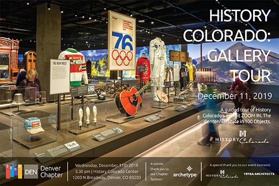 SEGD Denver History Colorado Tour