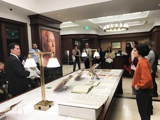 The Colorado Law Library hosts SEGD Denver and AIGA Colorado for a Rare Book Salon