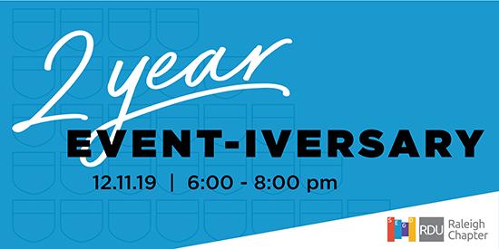 SEGD Raleigh 2 Year Event-iversary