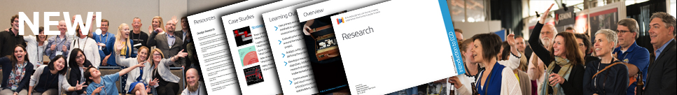 Take a look at the NEW SEGD Workbooks on Research, Presentation and Detailing attached to the Core Competencies section