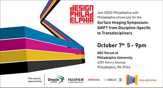 Surface Imaging Symposium at Design Philadelphia