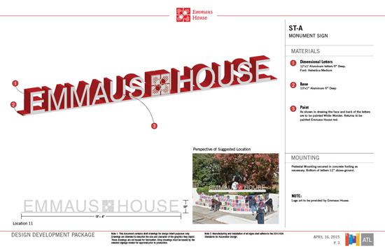 Emmaus House Design Development Main ID