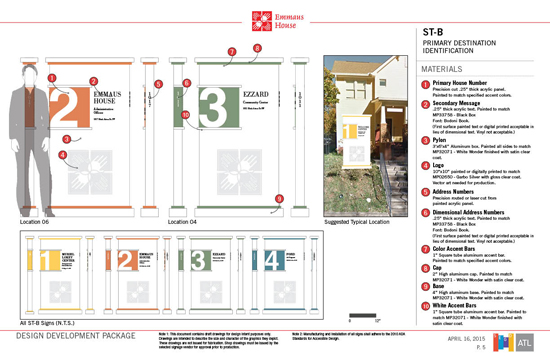 Emmaus House Design Development Secondary ID