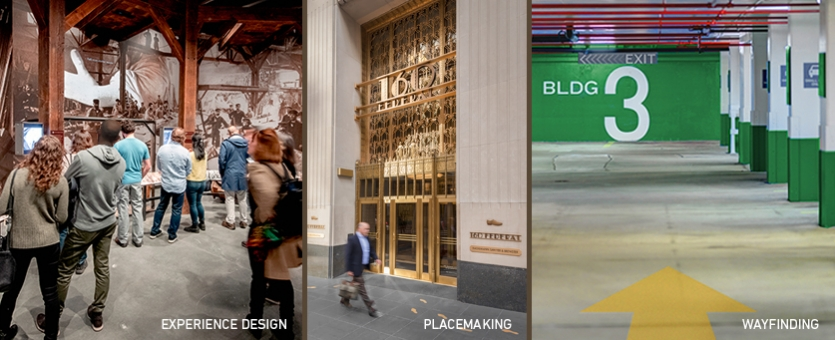 ESI Design Firm Listing Image: Experience Design, Placemaking, and Wayfinding
