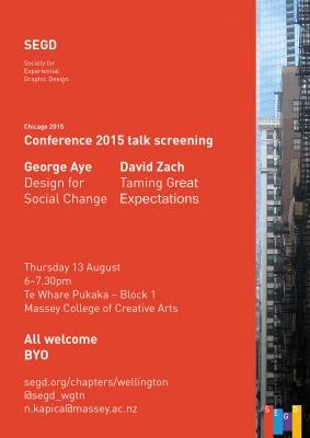 SEGD screening poster