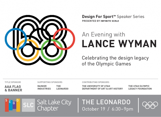 An Evening with Lance Wyman, October 19, 2017