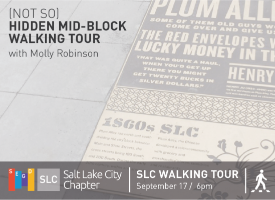 (Not So) Hidden Mid-Block Walking Tour with Molly Robinson