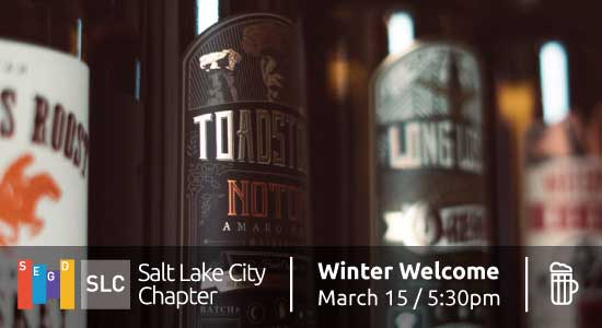 SLC Chapter Winter Welcome at Waterpocket