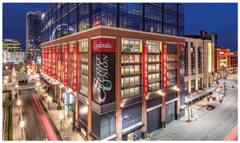 Archetype fabricates and installs phase 2 of the St Louis Ballpark Village