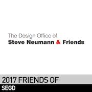 Steve Neumann & Friends, 2017 Friend of SEGD