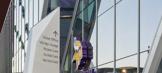 Image: U.S. Bank Stadium wayfinding