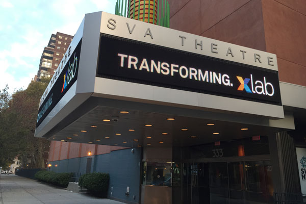 2017 SEGD Xlab will be held at the SVA Theatre in New York City.