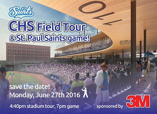 CHS Field Tour & St. Paul Saints Game!