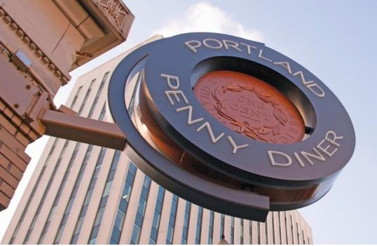 Penny Diner Sign