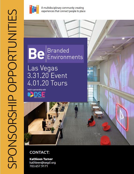 2020 Branded Environments Prospectus